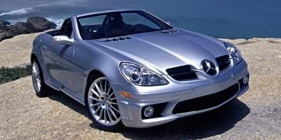 Used 2008 Mercedes Benz Slk Class Roadster 2d Slk55 Amg Mileage