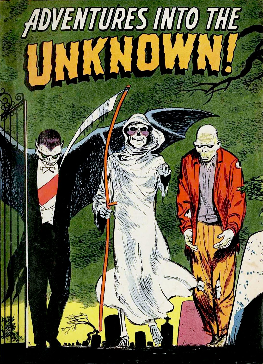 vintage Halloween comic book cover   Halloween Comics & Mags & Books ...