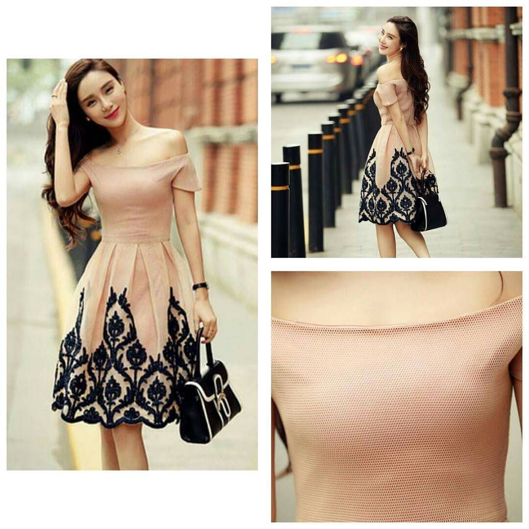 Beautiful dress for women Material polyester Price 2299