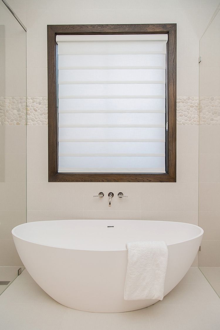 BEFORE & AFTER: A Master Bathroom Finally Becomes The Masterpiece ...