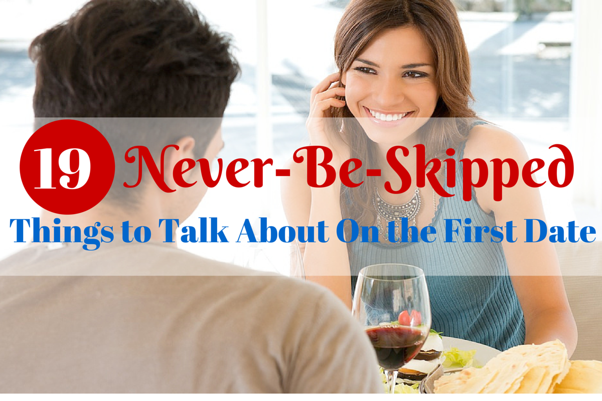 What to speak about on a first date