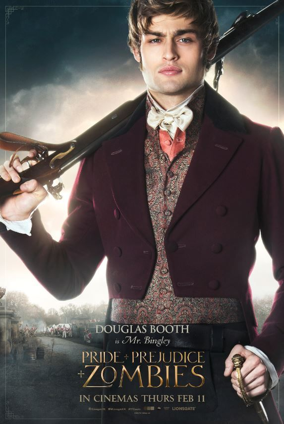 Pride And Prejudice And Zombies Douglas Booth As Mr Bingley Oh Look Another R Pride And Prejudice And Zombies Pride And Prejudice Watch Pride And Prejudice