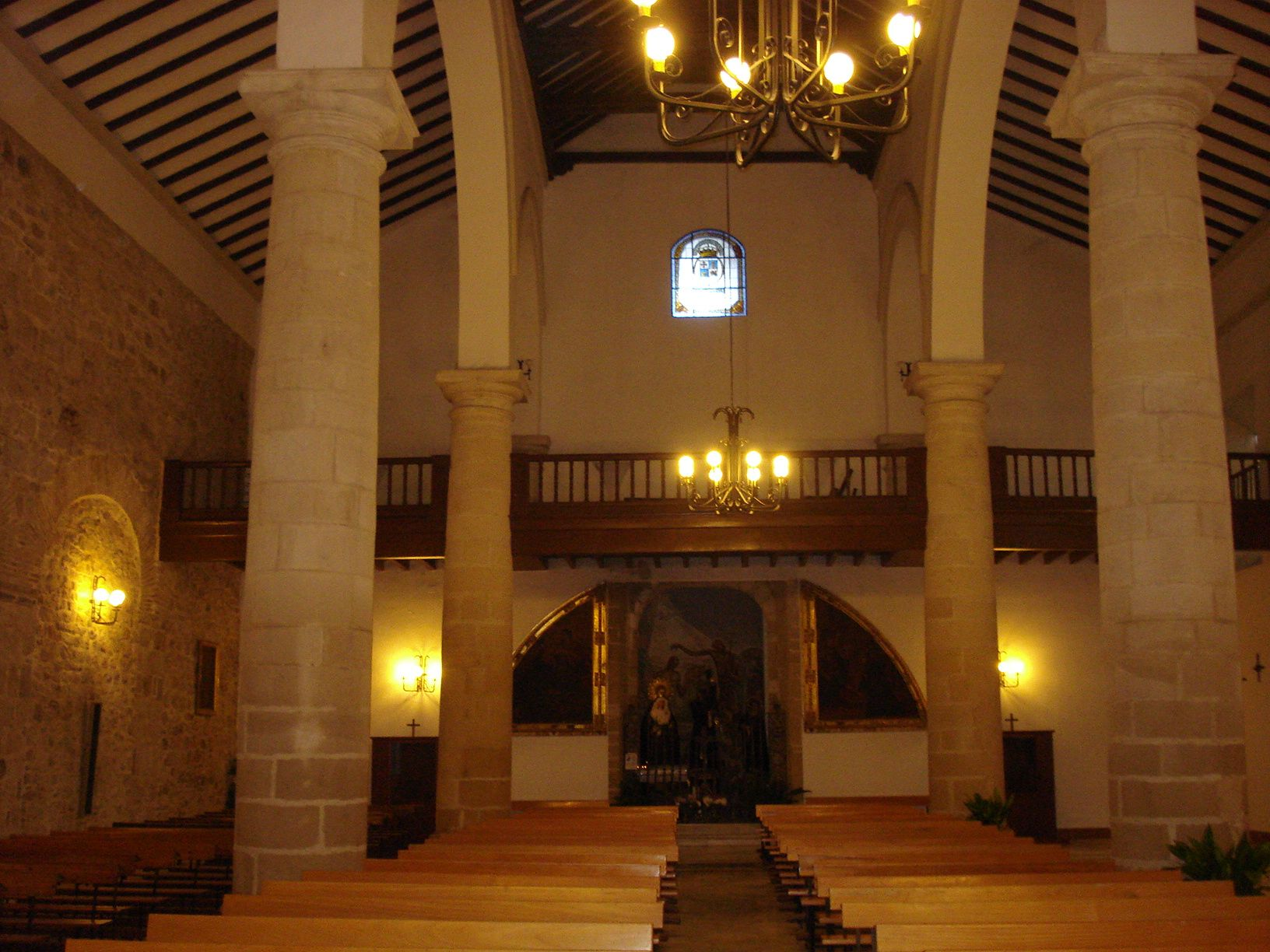panoramica de la iglesia