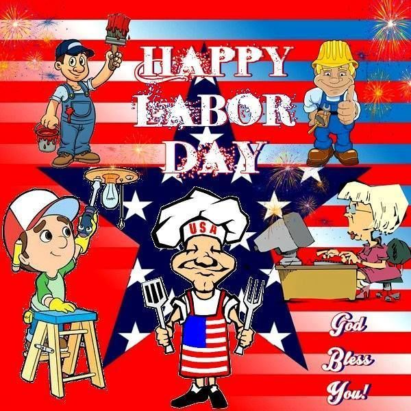 Occupations - Happy Labor Day Image