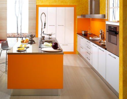 Esa cocina de departamento fue diseñada en una paleta acotada de ...