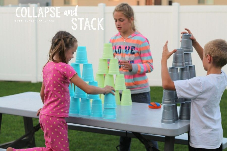 18 Fun Things To Do With Plastic Cups Juegos Divertidos Juego Y Pecas