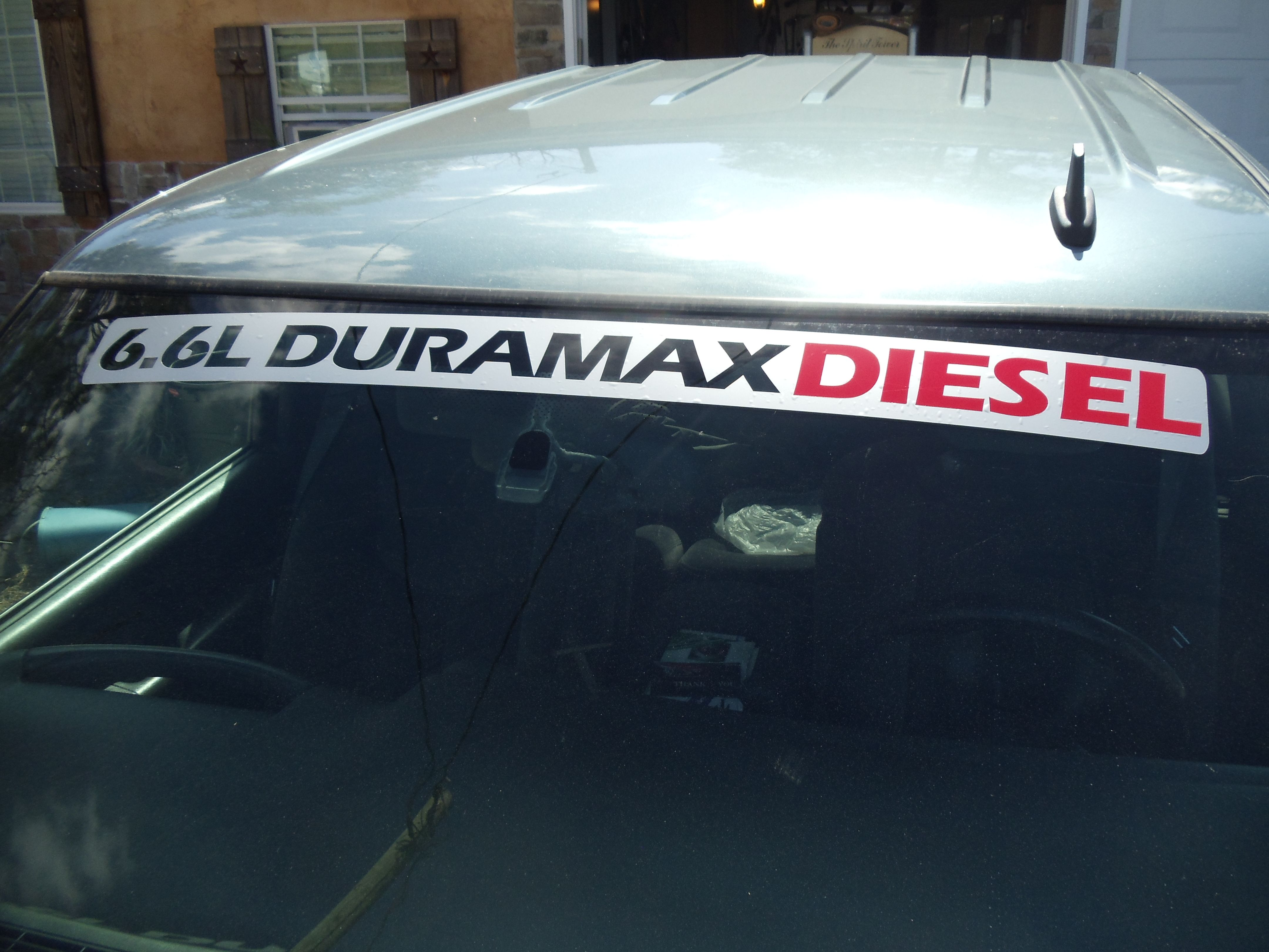 L DURAMAX DIESEL Windshield Topper Decal Chevy Pinterest - Chevy duramax diesel decals