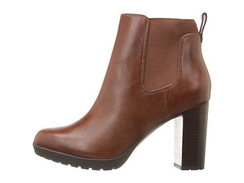 Clarks Elipsa Dee Ankle Boots Color: Brown