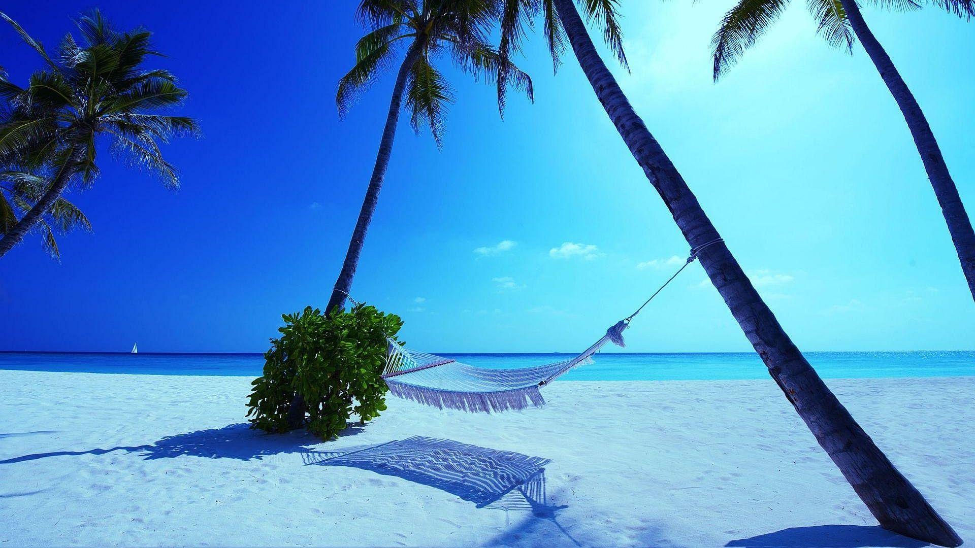 YouWall Maldives Beach Wallpaper Wallpaperwallpapersfree