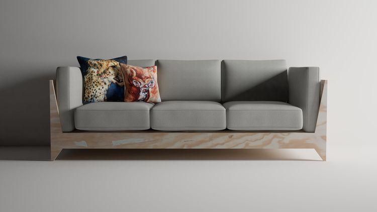 Plywood Sofa — treasure tolliver