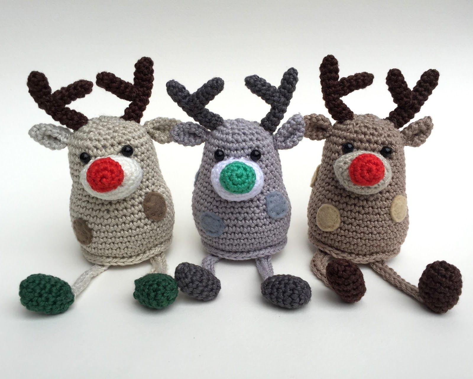 Amigurumi Reindeer Free Pattern : Amigurumi little reindeer free pattern amigurumi free patterns