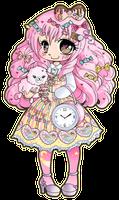 Sweet Lolita ::Chibi Commission:: by YamPuff
