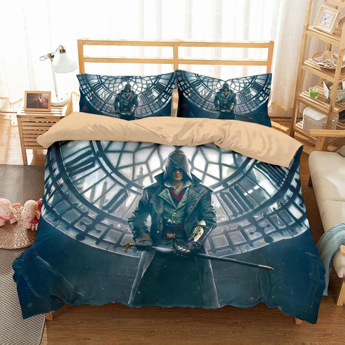 3d Customize Assassin S Creed Bedding Set Duvet Cover Set Bedroom