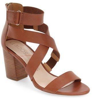 486b0ffaab9 Women s Sole Society  Sabina  Block Heel Sandal