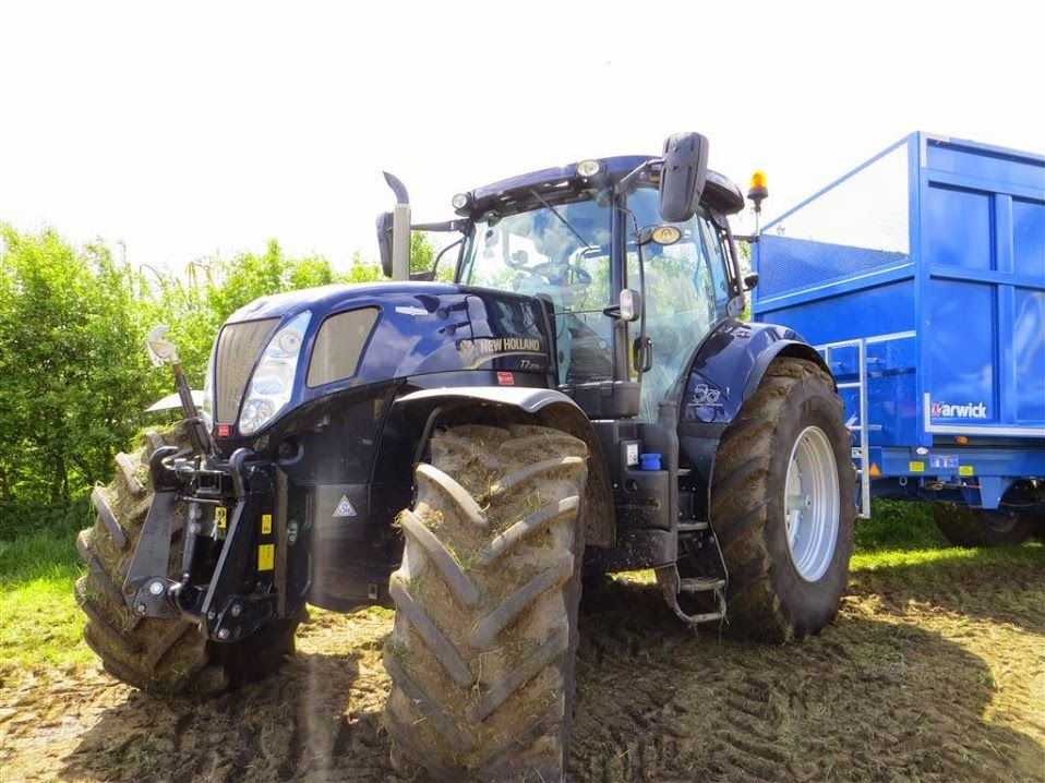New Holland Golden Jubilee Tractor At Grassland Uk 2015 New