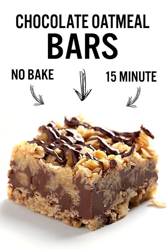 15 Delicious and Easy NoBake Desserts is part of Chocolate oatmeal bars - If you're looking for something to satisfy your sweet cravings but without turning the oven on, you're in the right place! Check out this great list of 15 supereasy nobake desserts that will blow your mind