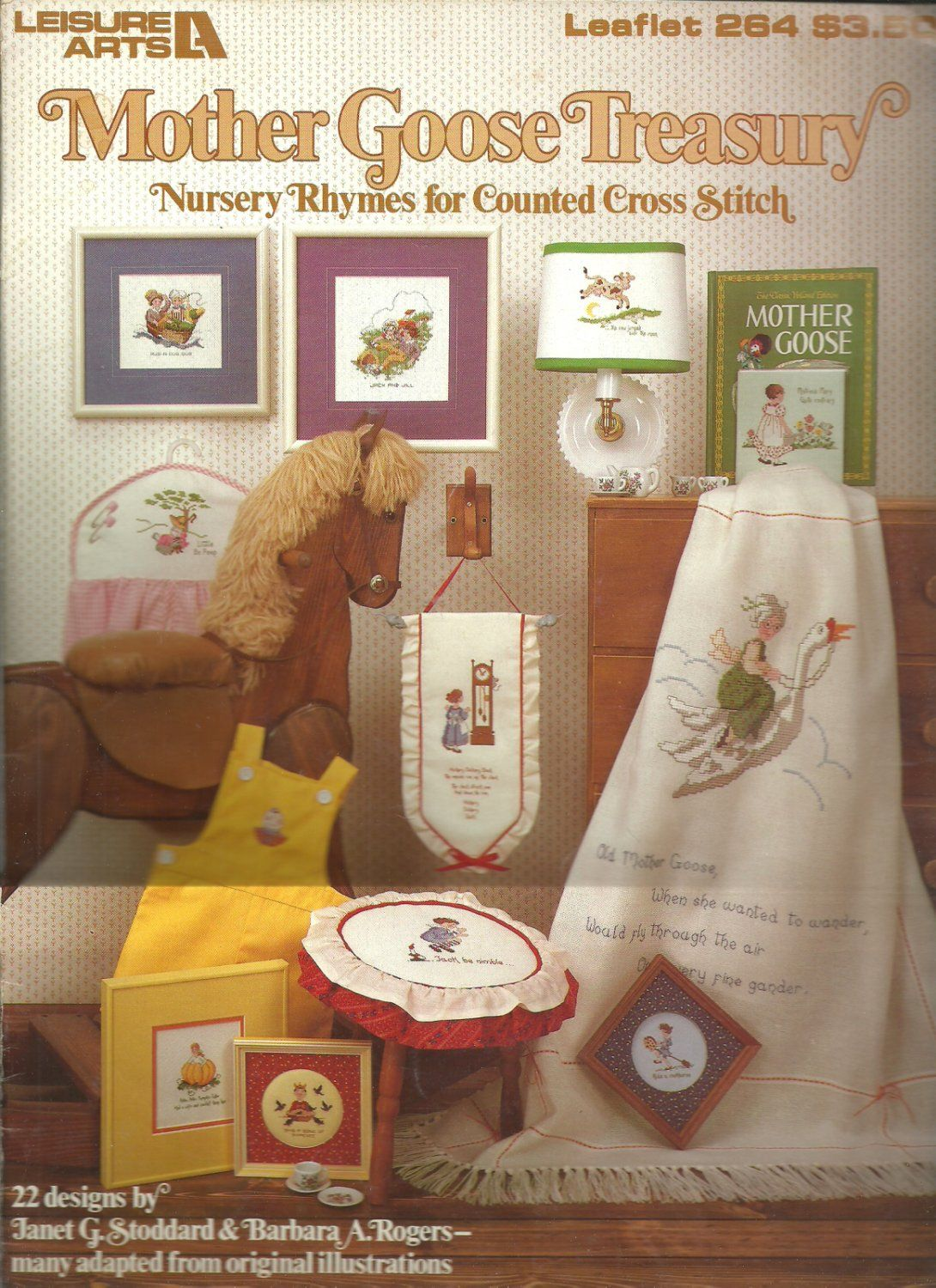 Leisure Arts- Mother Goose Treasury - Nursery Rhymes for counted cross stitch