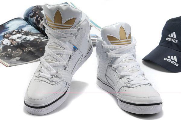 adidas white shoes men