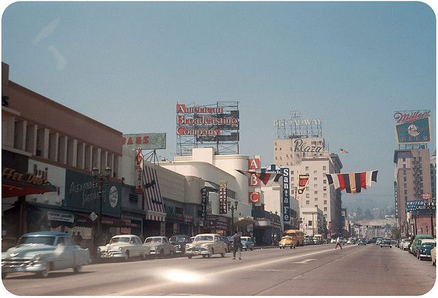Pin By Marlene Ansley On When I Was Growing Up Vintage Los Angeles Street Scenes Los Angeles
