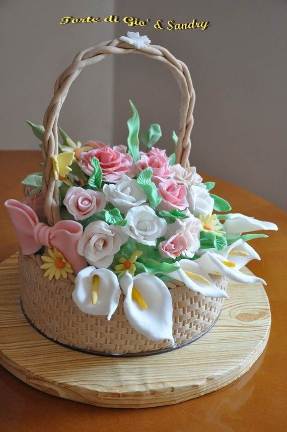 Cake-Decorating-Ideas-for-a-Moms-Day-Cake_19 in 2019 ...