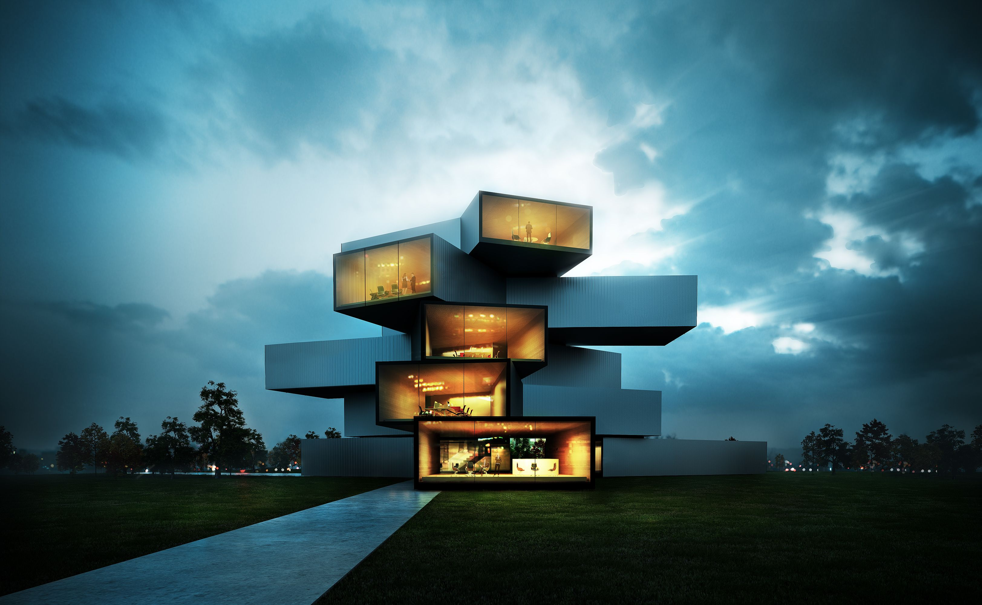 modern house architecture Modern House