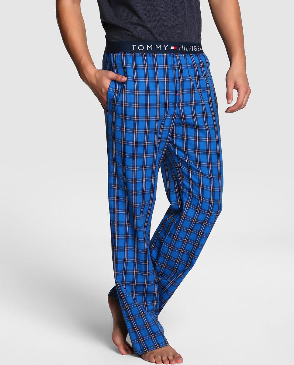 sombras de venta caliente excepcional gama de estilos y colores Pantalón de pijama de hombre Tommy Hilfiger azul | men's ...