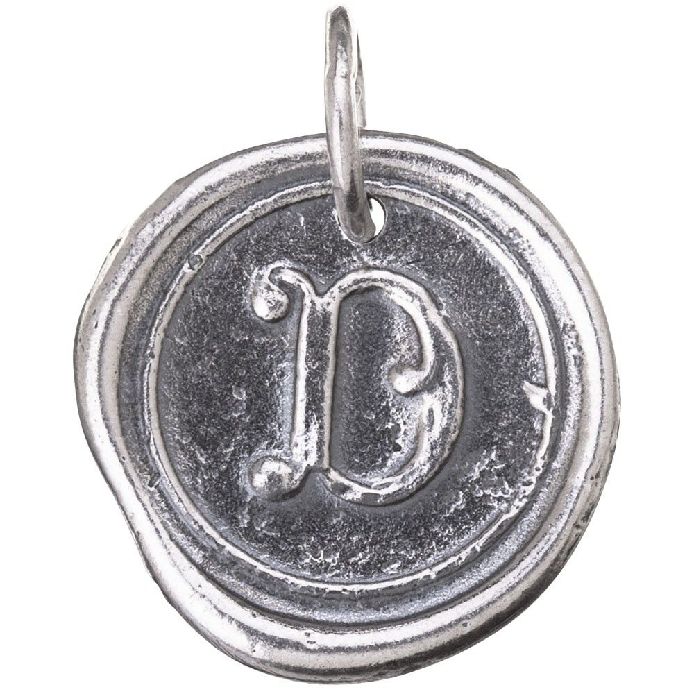 Round Insignia - Letter D *