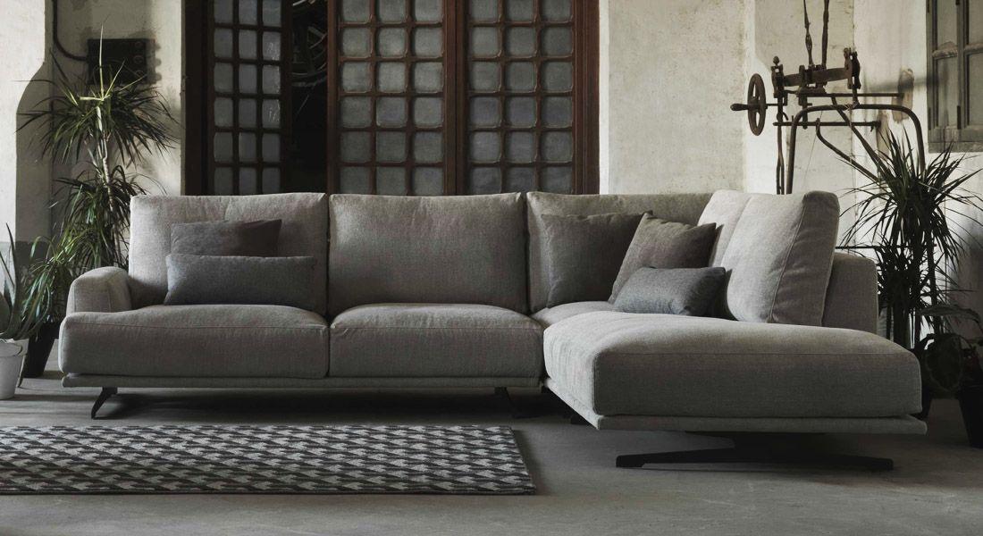 Canape En Tissu Design Style Contemporain