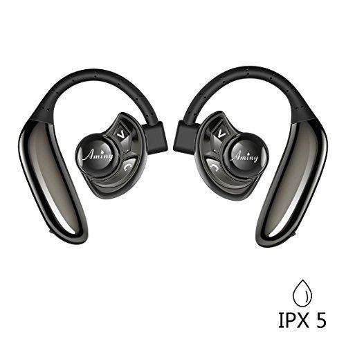 Wireless Earbuds Aminy With 8 Hours Battery Life True Wir Earbuds Sweatproof Headphones Headphones
