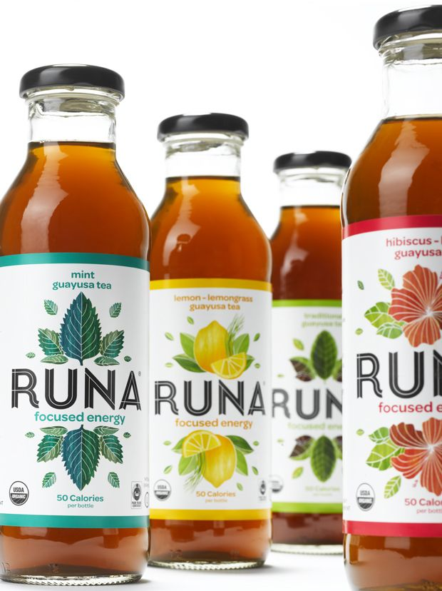 Runa. Rethinking the energy drink. [First beverage company in North America to sell Guayusa, an Amazonian tree leaf brewed for centuries as a source of mental strength and energy]
