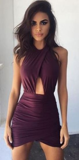 17a7991a0af 20 Sexy Dresses For Your Next Night Out | Cd | Fashion, Purple ...