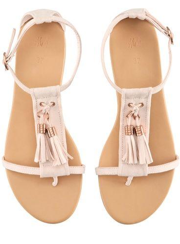 Sandales avec bride h