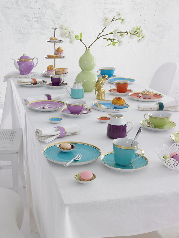 reichenbach colour kaffeetafel design gerd sommerlade reichenbach porzellan tisch und. Black Bedroom Furniture Sets. Home Design Ideas