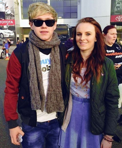 Niall at a Derby game today