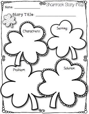 Shamrock Story Map | Class Holiday Ideas | St patrick's ...
