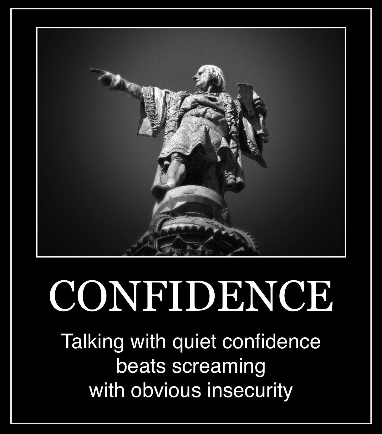 INTJ - Confidence