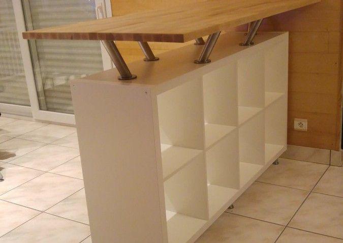 Un bar mange-debout vaisselier ! | IKEA | Pinterest | Deco, Vaisselier et Mobilier