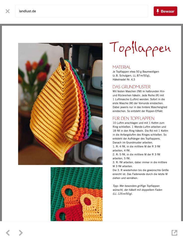 Photo of topflappen – Gisella P. #potholders topflappen – #Topflappen
