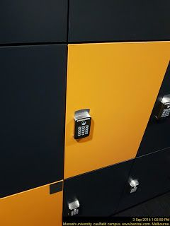 Locker with Pin Pad   Locker Pin-Pad School