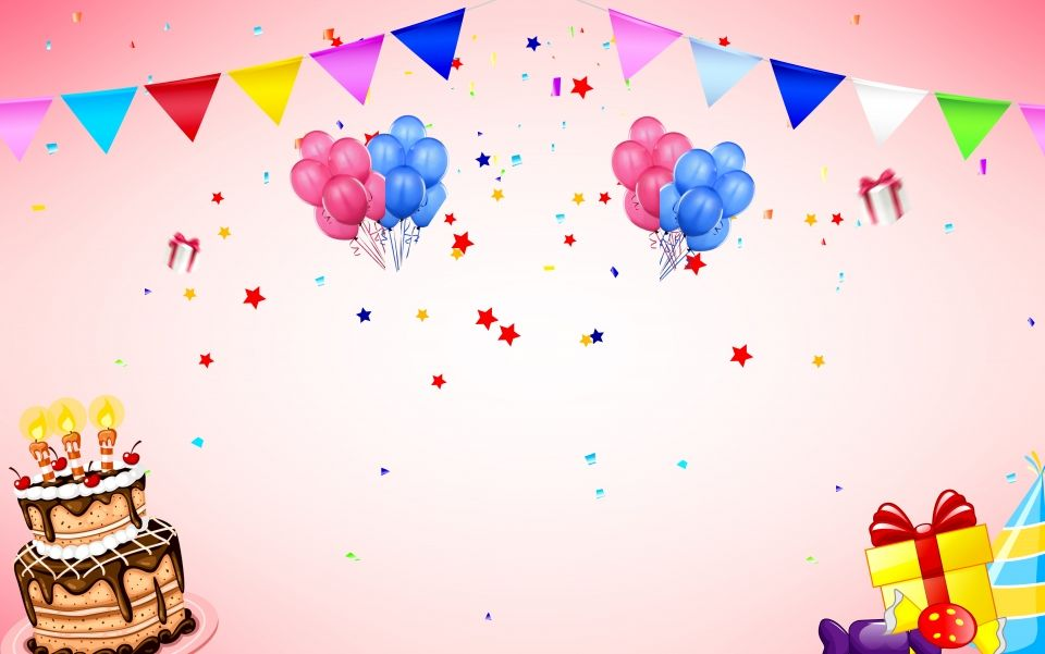 Admirable Fresh Balloon Cake Ad Background Com Imagens Baloes De Birthday Cards Printable Benkemecafe Filternl