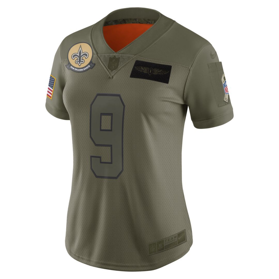 Aaron Rodgers Green Bay Packers Salute To Service Limited Jersey - Olive