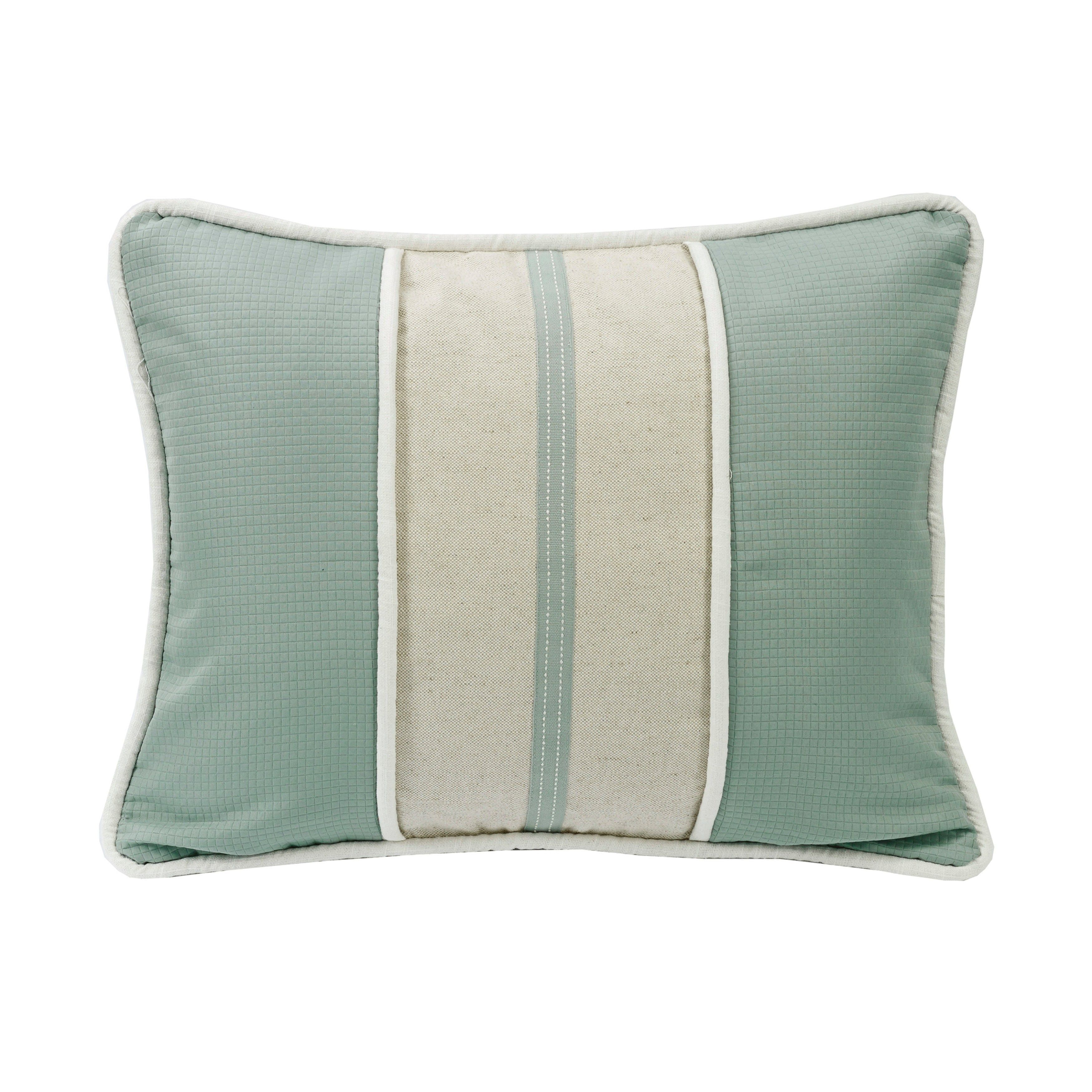 Hiend accents striped textured fabric linen inch x inch
