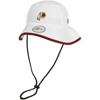 31fedb4576810 New Era Washington Redskins Training Bucket Hat - White