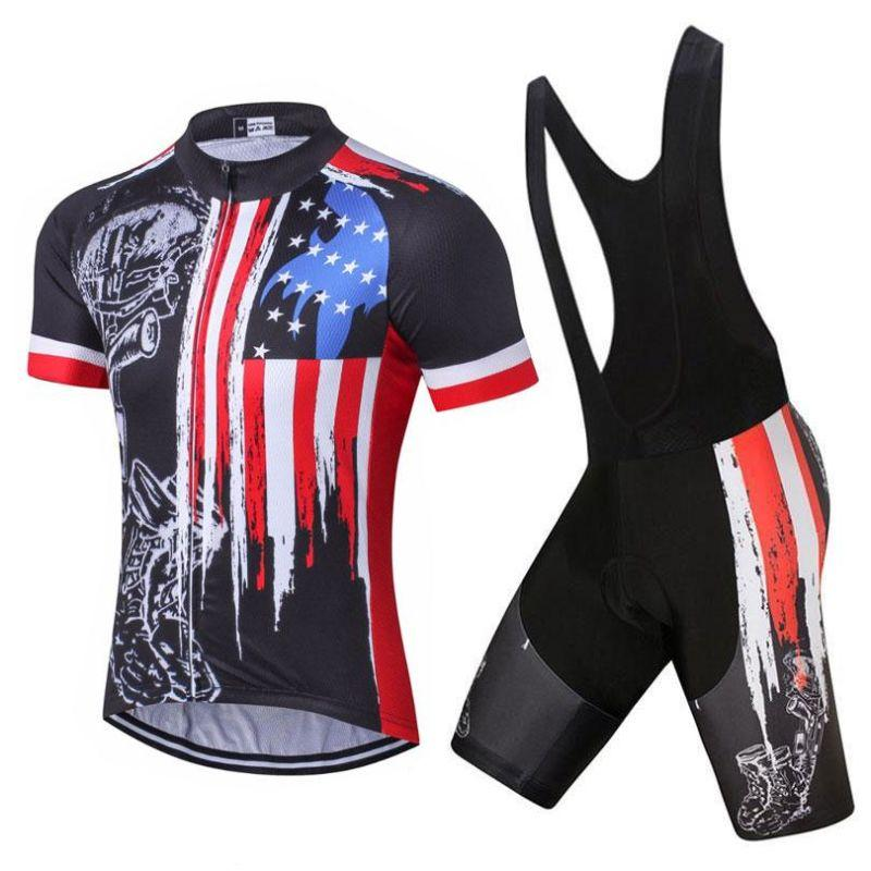 Honor The Fallen Usa Flag Cycling Kit Cycling Outfit Clothes