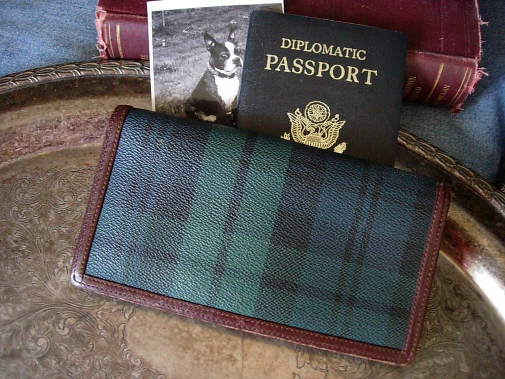 829a272b2d RARE Vintage RALPH LAUREN Blackwatch Plaid Long Wallet Unisex Purse  Accessory  RalphLauren  Wallet