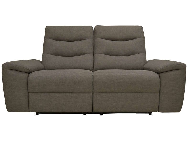 Canape Fixe Relaxation Manuel 2 Places En Tissu Foster Coloris Anthracite Vente De Canape Cuir Conforama Canape Fixe Canape Cuir Et Fixe
