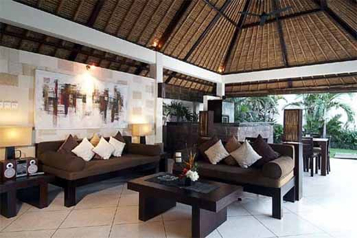 Balinese Living Hall Design Balinese Living Room Gnibo