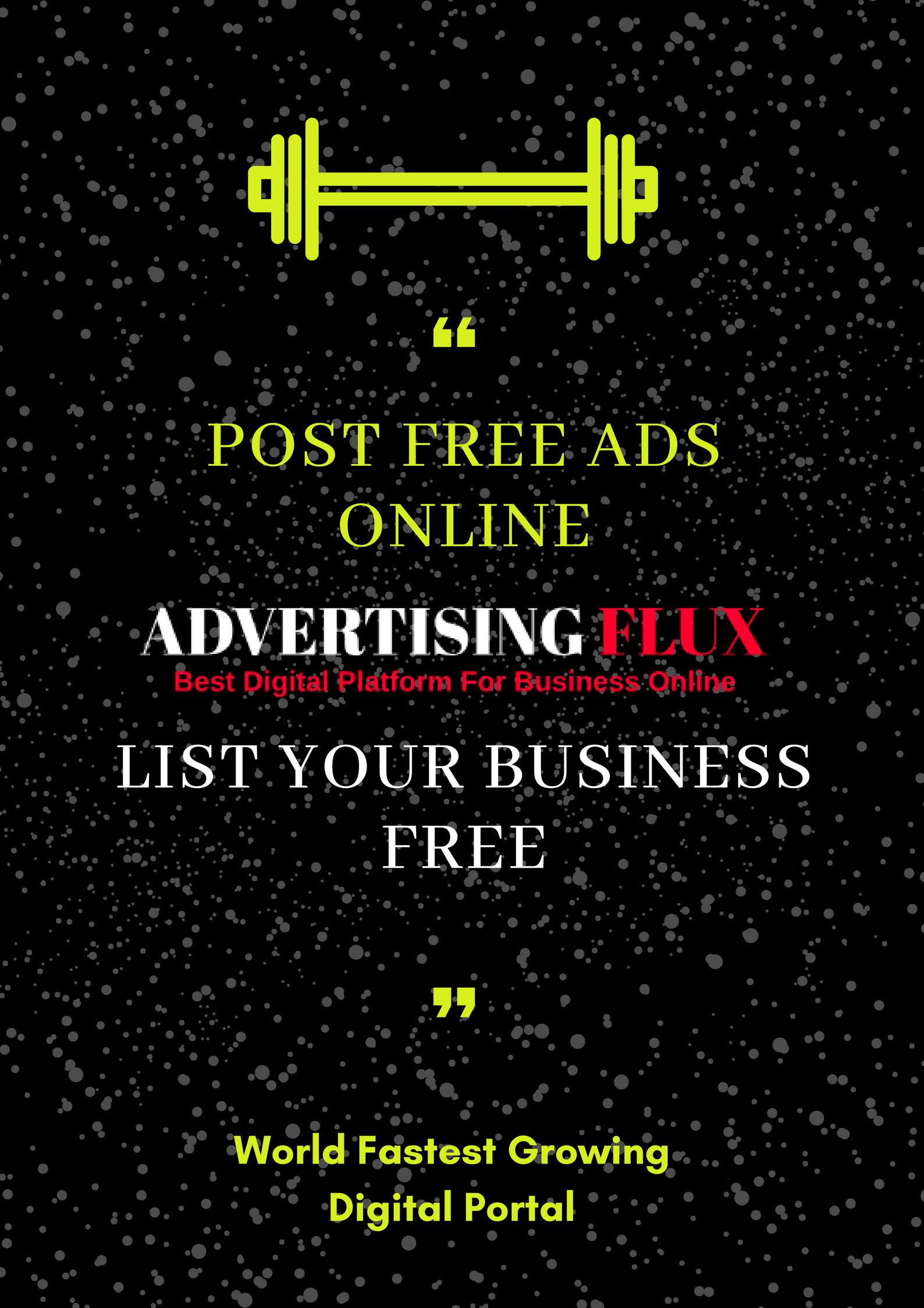 Advertising Flux is the popular online platform for post