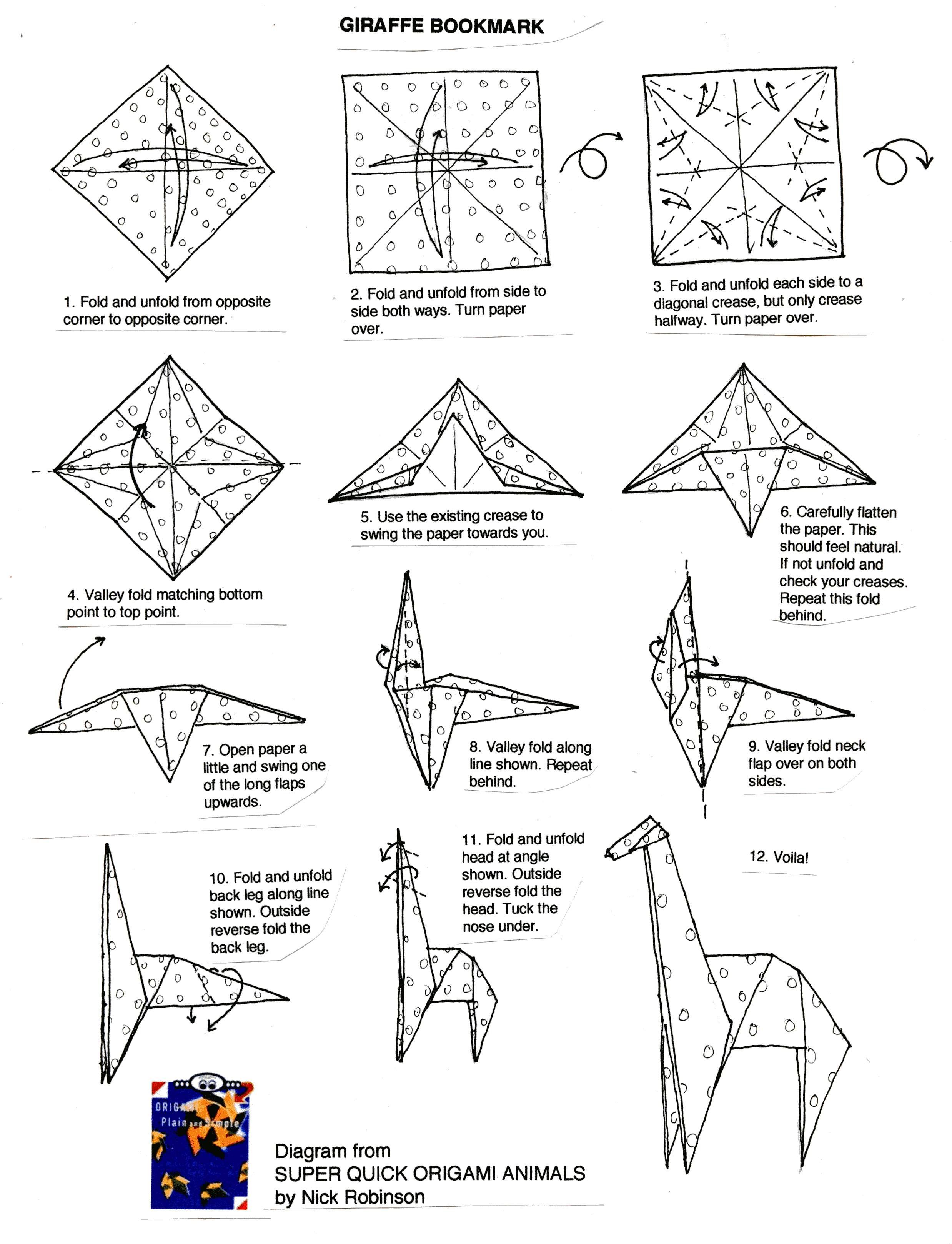 origami instructions on pinterest