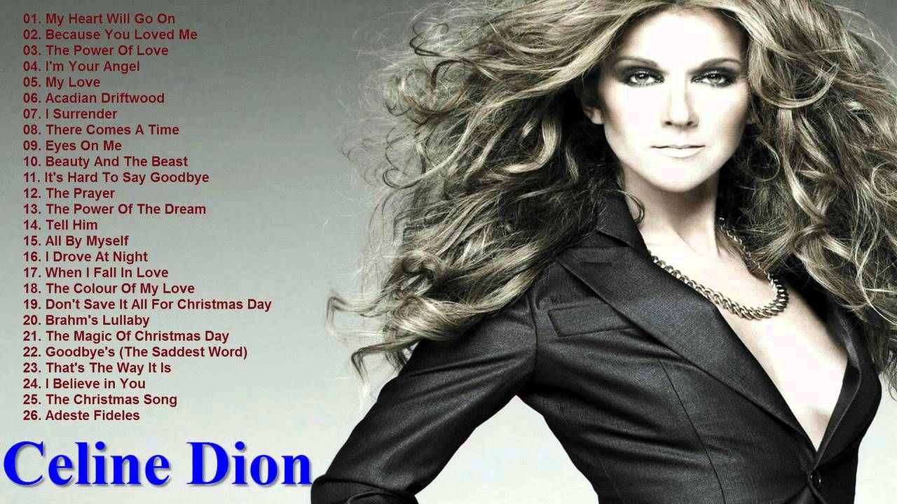 Non Stop The Best Of Celine Dion Celine Dion S Greatest Hits Full Album Celine Dion Greatest Hits Celine Dion Best Songs